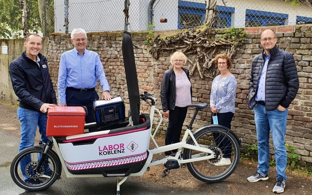 Labor Koblenz startet gemeinsam mit der Firma Ca Go Pilot-Projekt #IchEntlasteKoblenz