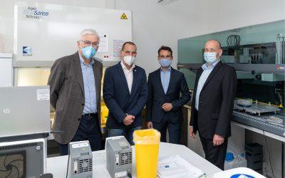 MVZ Labor Koblenz empfängt Oberbürgermeister David Langner
