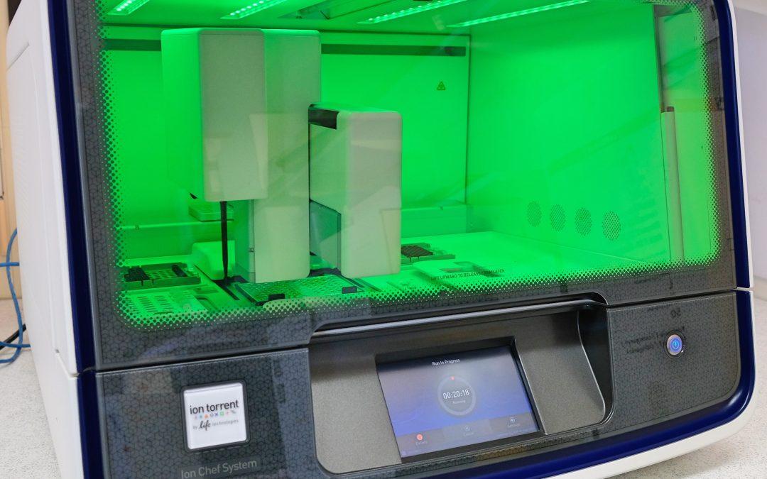 Genomsequenzierung versus Mutations-PCR